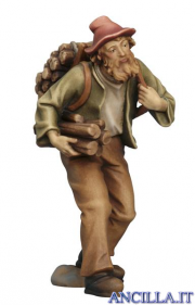 Pastore con legna Kostner serie 12 cm