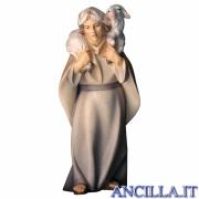 Pastore con pecora sulle spalle Cometa serie 25 cm