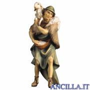Pastore con pecora sulle spalle Ulrich serie 8 cm