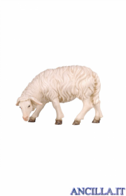 Pecora che mangia testa a sinistra Kostner serie 16 cm