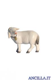 Pecora con campanello testa a sinistra Pema serie 15 cm