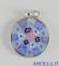 Pendente Murano Glass 15 mm mod. 3 argentato
