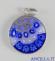 Pendente Murano Glass 15 mm mod. 5 argentato