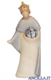 Re bianco Leonardo serie 10 cm Colorato