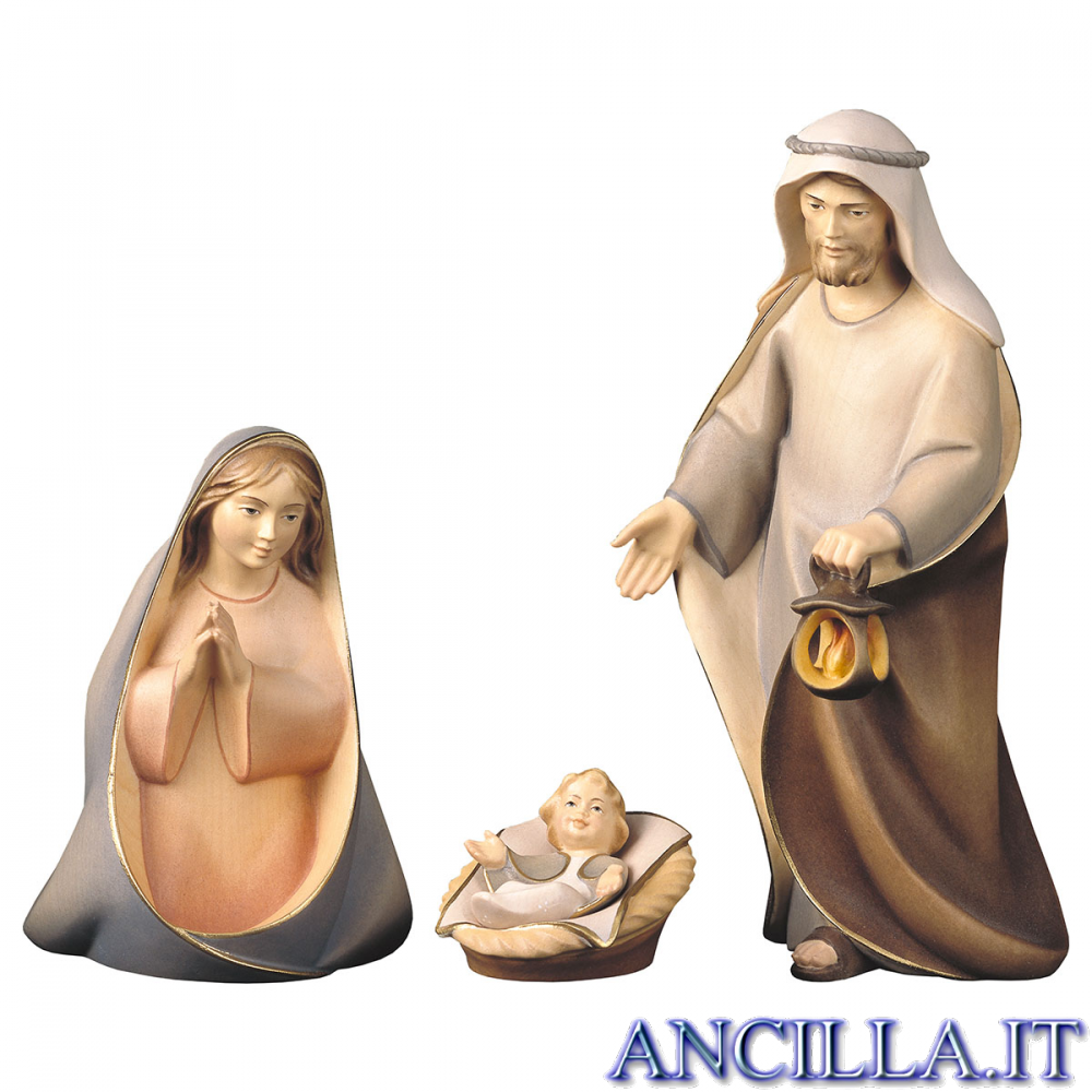 Sacra Famiglia Cometa serie 10 cm mod. 1
