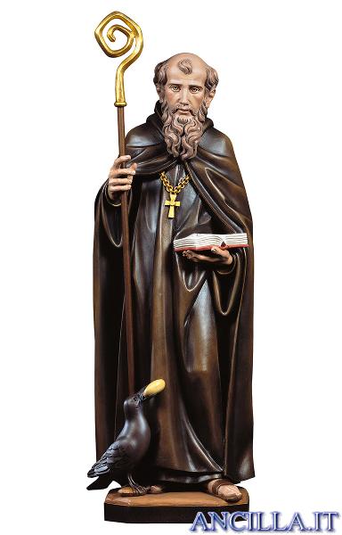 San Benedetto da Norcia con corvo e pane