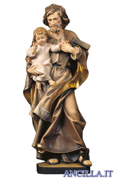 San Giuseppe con Bambino e squadra