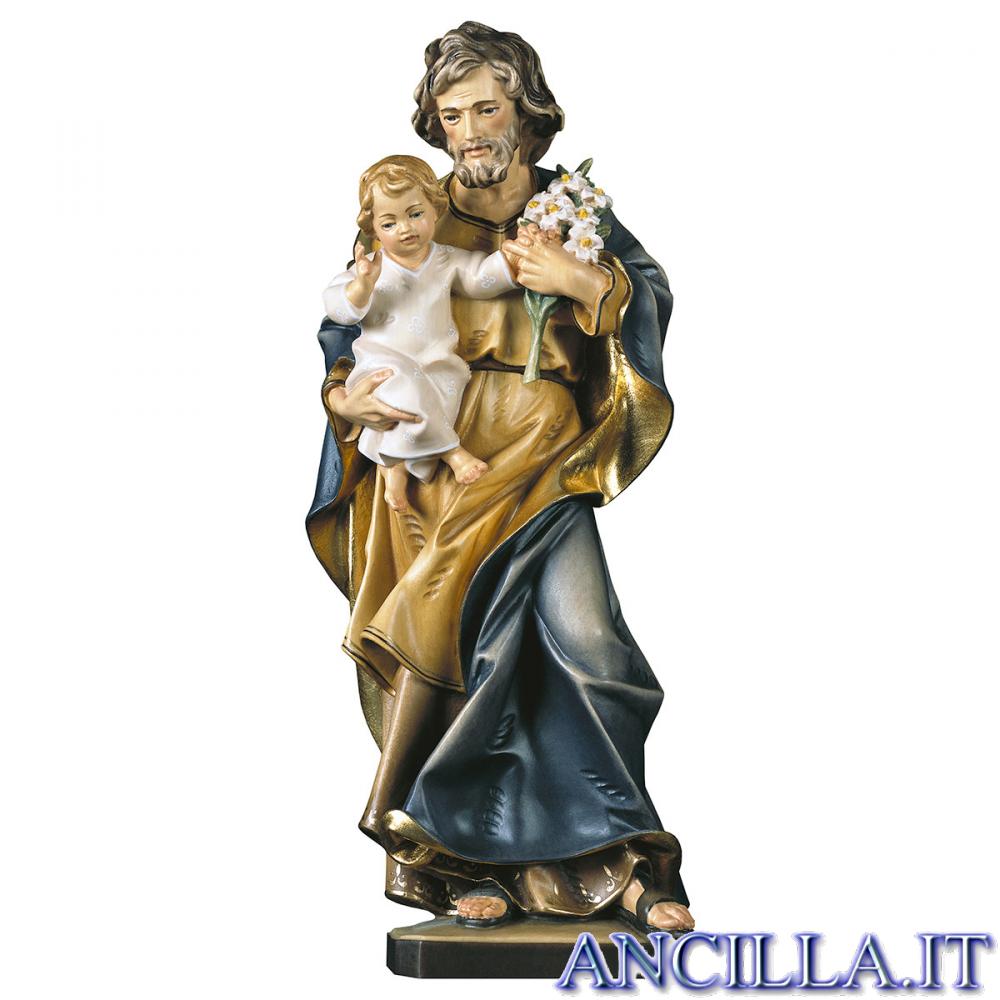 San Giuseppe con Bambino modello 3