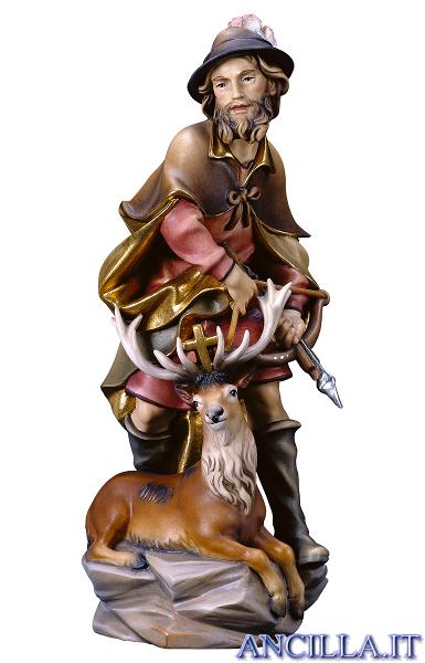Sant'Umberto con cervo
