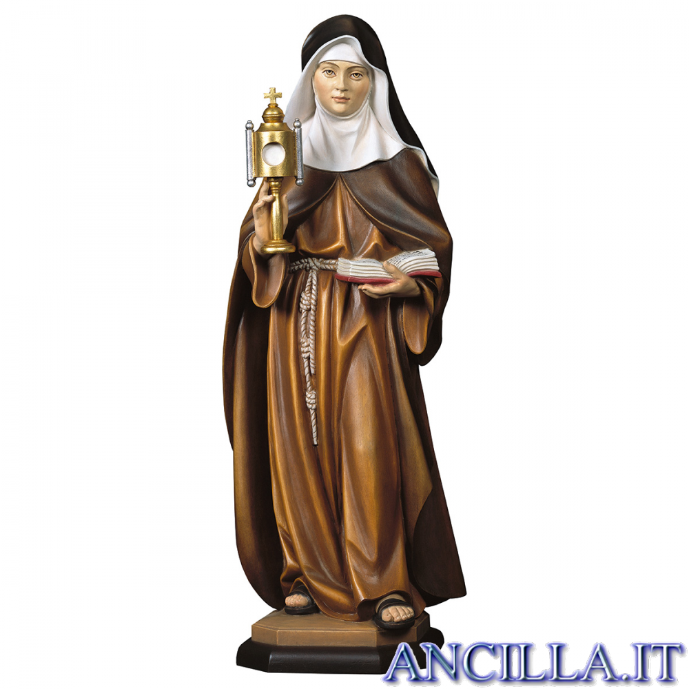 Santa Chiara d'Assisi con teca eucaristica