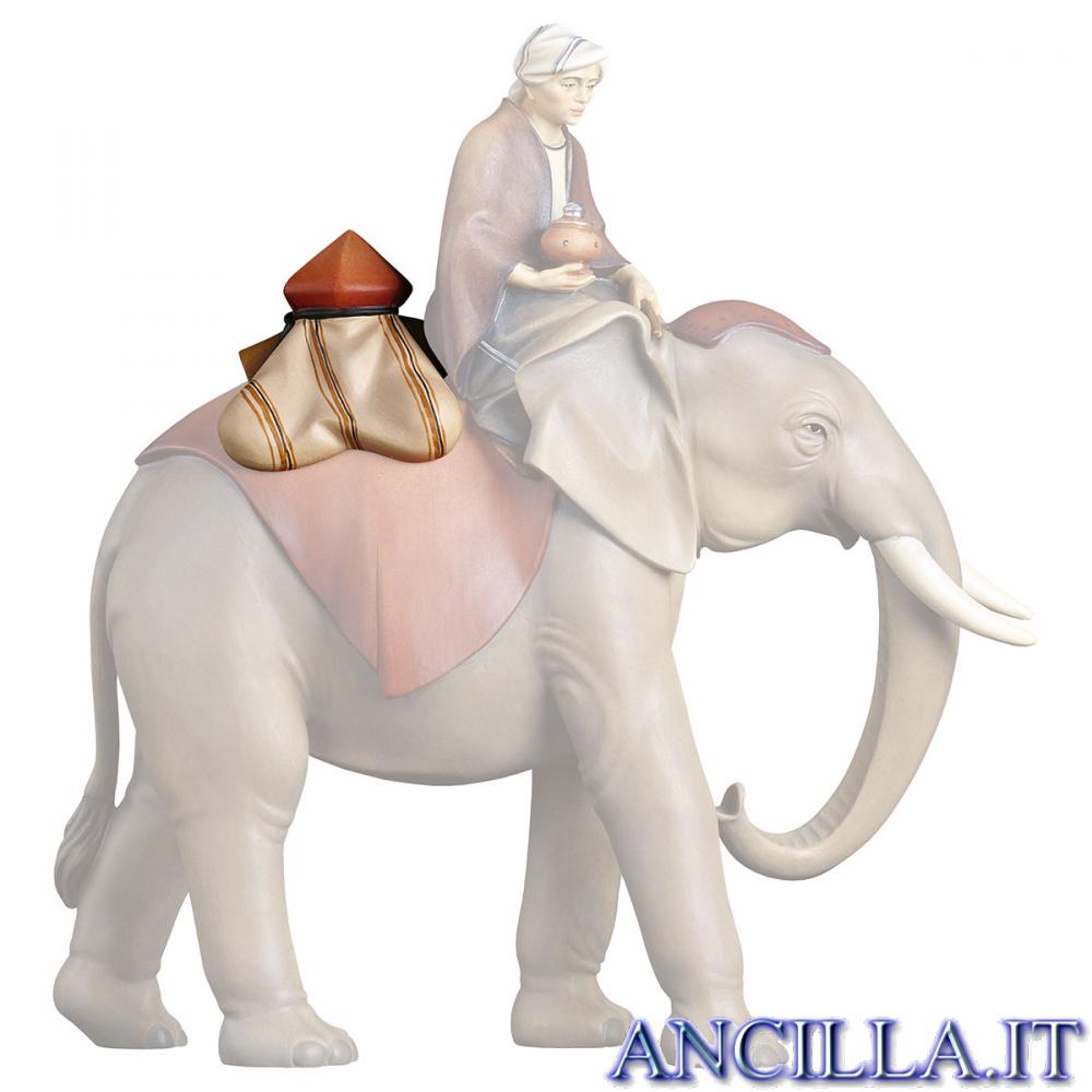 Sella gioielli per elefante in piedi Cometa serie 12 cm