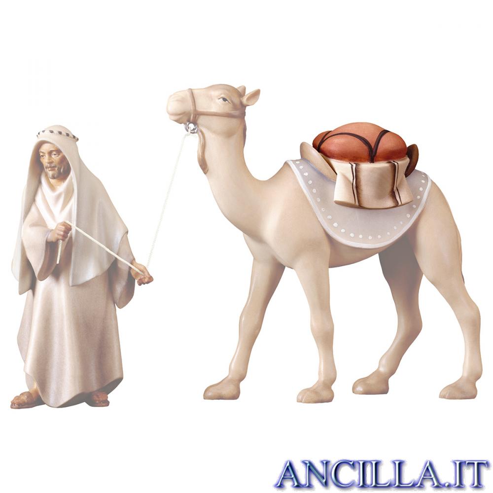 Sella per cammello in piedi Cometa serie 12 cm