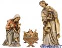Sacra Famiglia Kostner serie 25 cm