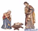 Sacra Famiglia Kostner serie 9,5 cm