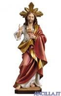 Sacro Cuore di Gesù modello 3 con raggiera