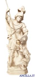 San Giorgio modello 2 legno naturale bianco