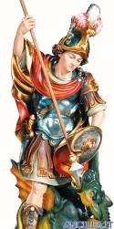 San Giorgio modello 2 dipinto a olio