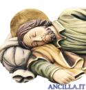 San Giuseppe dormiente olio