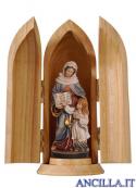 Sant'Anna e Maria bambina con nicchia