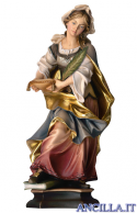 Santa Astrid con palma