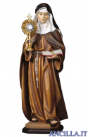 Santa Chiara d'Assisi con ostensorio modello 2