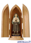 Santa Giacinta Marto con nicchia