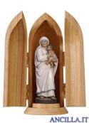 Santa Teresa di Calcutta con nicchia