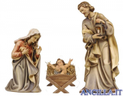 Sacra Famiglia Kostner serie 16 cm