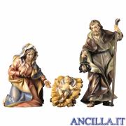 Sacra Famiglia Ulrich serie 50 cm