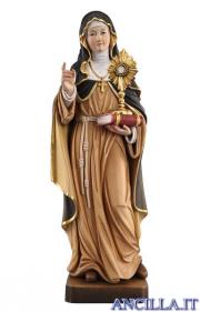 Santa Chiara d'Assisi con ostensorio modello 1