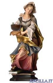 Santa Cristina da Bolsena con macina
