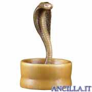 Serpente nel cesto Cometa serie 12 cm