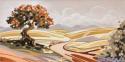 Terra nostra - decorato su pannello piatto