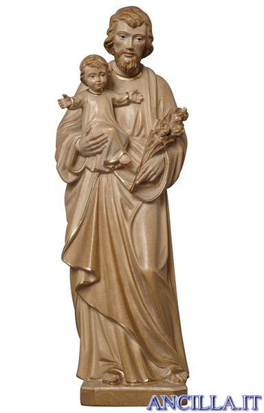 San Giuseppe con Bambino modello 2