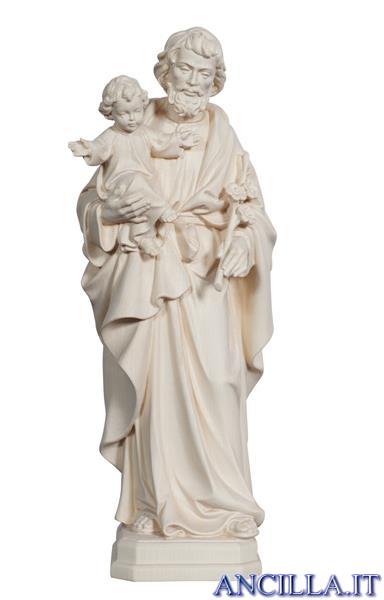 San Giuseppe con Bambino modello 1