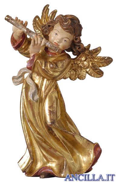Angelo Giotto con flauto
