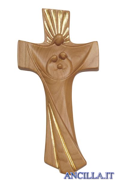 Croce della Famiglia Ambiente Design legno di ciliegio