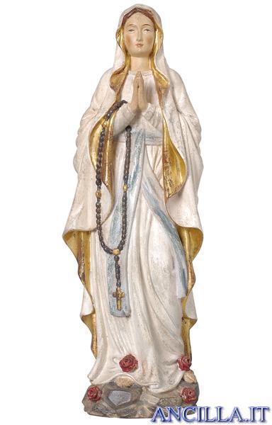 Madonna di Lourdes modello 1 anticata oro