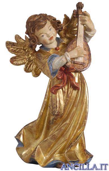 Angelo Giotto con mandolino