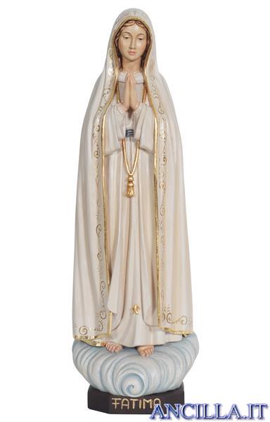 Madonna di Fatima Capelinha dipinta a olio