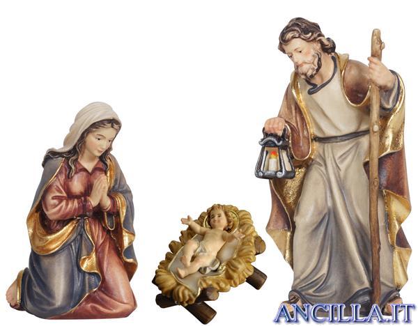 Presepio Mahlknecht Capanna Notte Santa - 14 pezzi