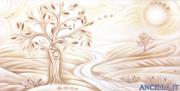 Coltivare l'amore - decorato su pannello piatto