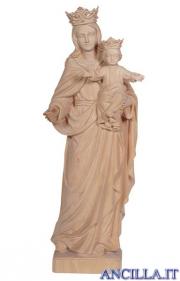 Madonna con Bambino e corona naturale