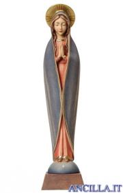Madonna di Fatima stilizzata dipinta a olio