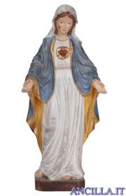 Sacro Cuore di Maria modello 1 anticato oro