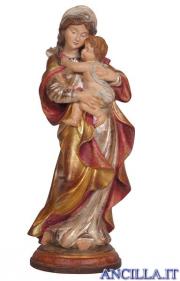Madonna Raffaello anticata oro e argento