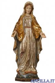 Madonna delle Grazie anticata oro e argento