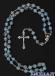 Corona del Rosario vetro satinato