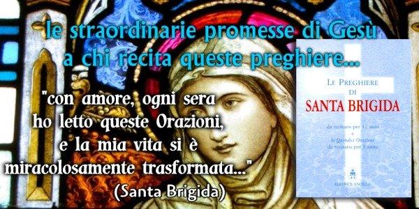 Le preghiere di Santa Brigida di Svezia