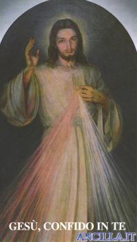 Adesivo Gesù Misericordioso